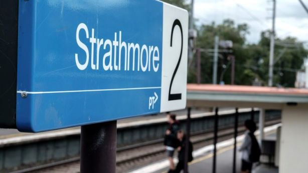 Strathmore station is not in Strathmore. It's in Essendon. Photo: Luis Ascui