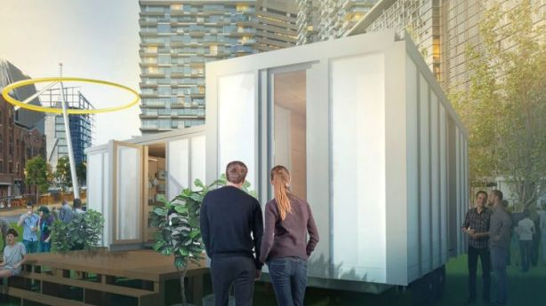 Australia's first flat-packed, off-grid tiny home is affordable and rethinks the way people live. Photo: Big World Homes.