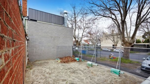 This 64-square-metre vacant block at 88A Richardson Street, Albert Park, sold for $1.3 million at auction on Saturday. Photo: Cayzer
