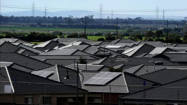 There's been huge growth and construction in the outer western suburbs, like Tarneit, but house price growth there has so far been minimal. Photo: Craig Abraham