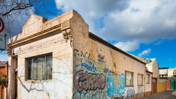What does a million bucks buy? An unlivable North Fitzroy property home sold for $1.21 million this month. Photo: Nelson Alexander