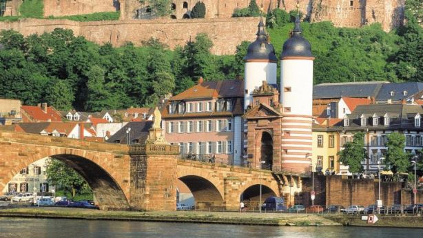 The old town of picturesque Heidelberg, Germany. Photo: German National Tourist Office