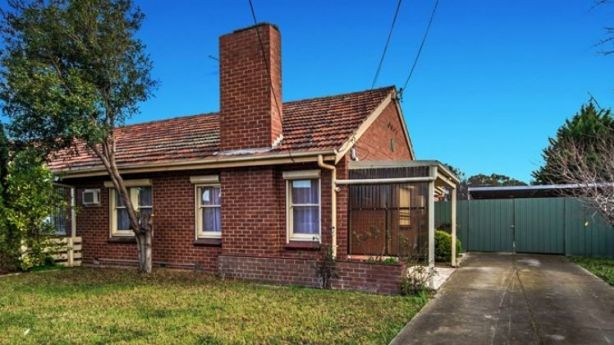 This house at 6 Dedrick Grove, Braybrook, sold to a first home buyer for under $500,000. Photo: Sweeney