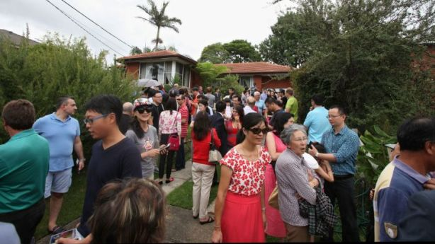 After a sustained, strong period of house price growth in the suburbs traditionally favoured by Chinese buyers, prices are now dropping - although marginally. Photo: Fiona Morris