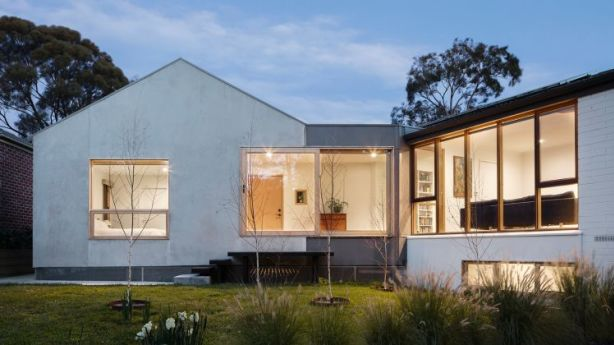 The Doncaster house designed by Jack Liu, of Inbetween Architecture. Photo: Jack Lovel