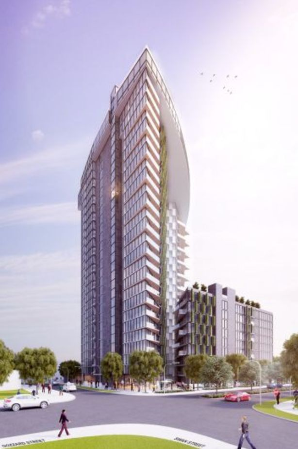An artist's impression of the proposed development. Photo: Nathan Gibson Judd Architect