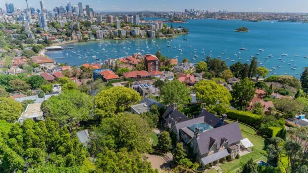 Agents expect more inquiries from US buyers and potentially China too if the US blocks foreign investment. Pictured: 'Rona' in Sydney's Bellevue Hill is on the market. Photo: Supplied