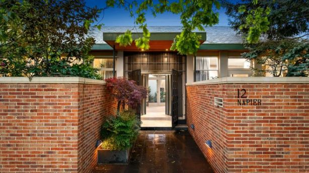 Record: a buyer paid more than $10,000 per square metre for 12 St Georges Road, Toorak. Photo: RT Edgar Toorak