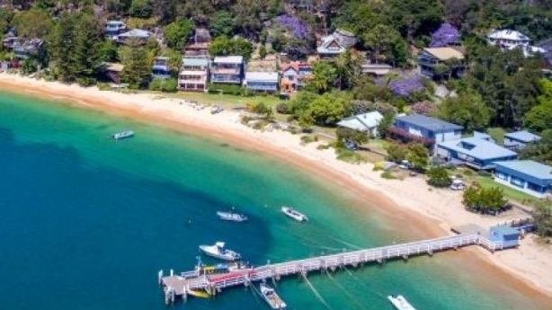 Great Mackerel Beach is only accessible by boat, and the ferry service is limited. Photo: Supplied
