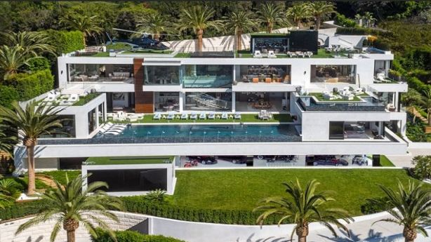 The new $US250 million property for sale in Bel Air. Photo: Tribune/Bruce Makowsky/BAM Luxury Development