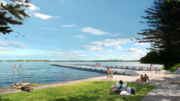 Trinity Point, Lake Macquarie Photo: Artist's impression