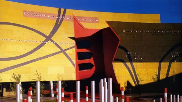 Carroll Go-Sam says the National Museum of Australia is an example of inclusive architecture. Photo: Supplied
