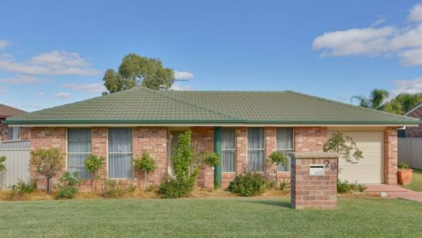 For around Tamworth's median house price you could buy a four-bedroom property like this one at 20 Wallamoul Street, which is about a 10-minute drive from the centre of Tamworth. Photo: Supplied