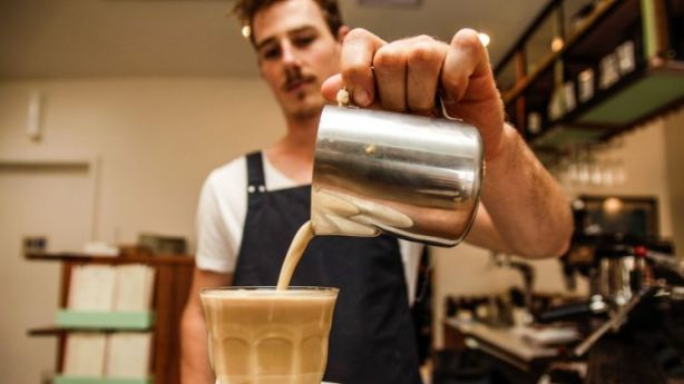 A recent surplus of coffee shops is the latest welcome addition to the suburb. Photo: Georgia Matts