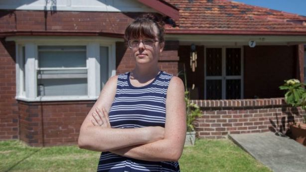 Candice is moving house with her boyfriend due to the rental increase. Photo: Fiona Morris