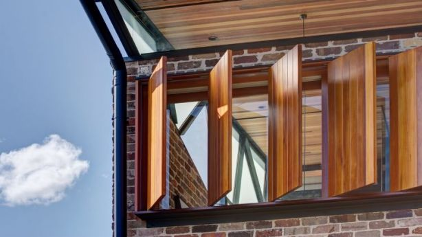 The Balmain rebuild redefines the traditional terrace, according to architects Carterwilliamson. Photo: Brett Boardman