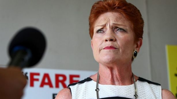 Pauline Hanson's office declined to comment. Photo: Lisa Maree Williams