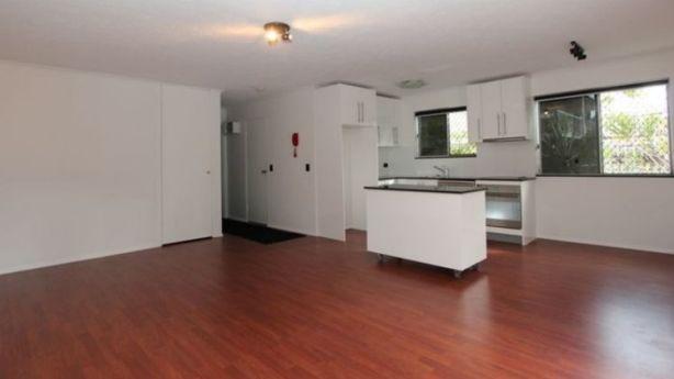 The unit exchanged last November for $265,000, but the sale never went through due to a caveat on the property. Photo: Domain.com.au