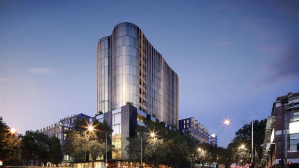The West End project being developed by Trenerry in West Melbourne. Photo: FloodSlicer Pty Ltd