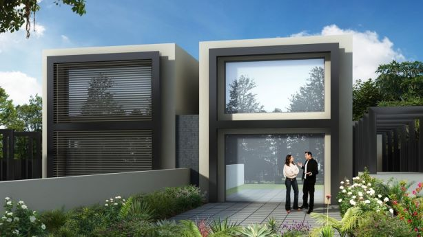 A vacant block at 7 Monomeath Avenue, Toorak, has a planning permit for townhouses. Photo: RT Edgar
