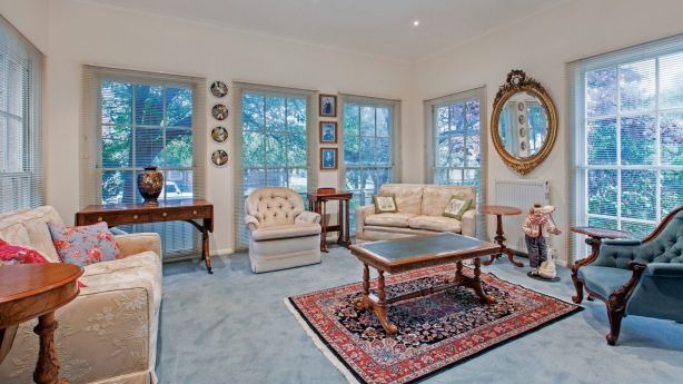 The interior of the deceased estate on St Ninians Road, which sold for $5.68 million. Photo: Marshall White