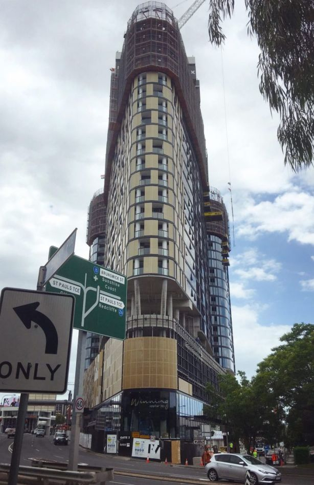 The Flatiron building of the FV project. Photo: Wendy Hughes