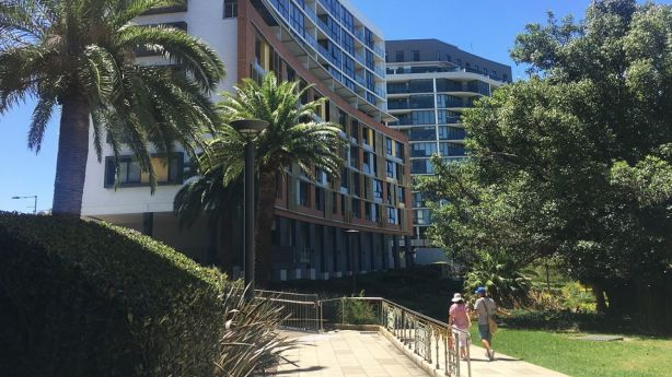 More than a dozen apartment blocks have risen since 2002, creating one of Sydney's densest precincts.
