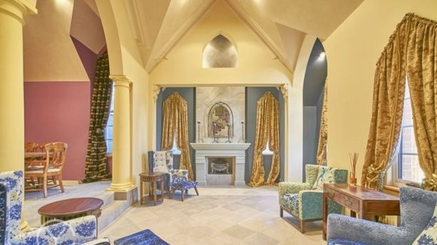Agent Stefanie Dobro, of Caporn Young Fremantle, describes the interior as gothic. Photo: Supplied