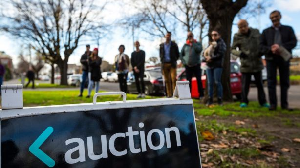 The biggest auction weeks over the past year weren't in spring at all. Photo: Chris Hopkins