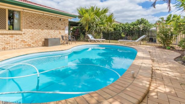 In Caboolture properties with pools can sell for well within the average first-home buyer's budget. Photo: Re/Max Ultimate
