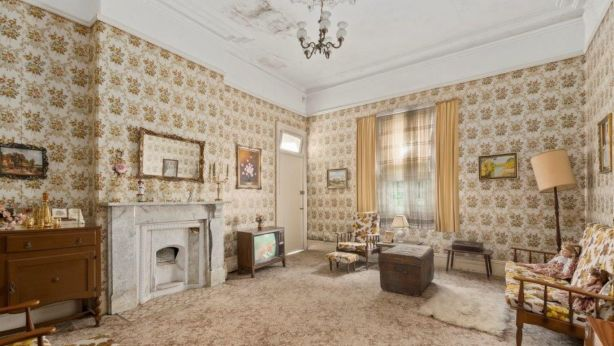 While home owners had expressed interest in purchasing the house and restoring it to its former glory, only developers bid on the day. Photo: Supplied.