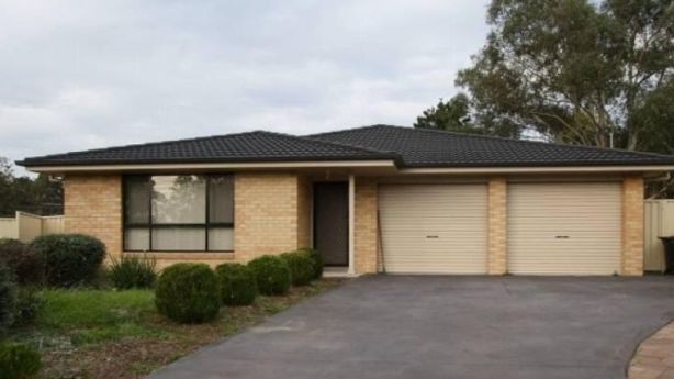 Daniel Walsh's first investment property, in Thirlmere NSW. Photo: Supplied