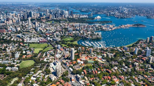 Randwick, in Sydney's east, has been named as the top suburb to attract global wealth this year. Photo: Mark Merton