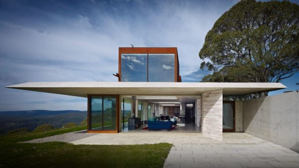 Invisible House at 2493 Jenolan Caves Road, Hampton Photo: Michael Nicholson Photography