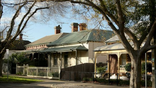 Housing in Footscray was seen as undesirable a decade ago, but the period style homes are now in hot demand. Photo: Pat Scala