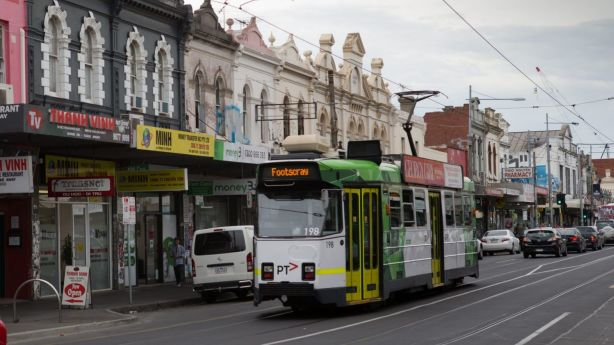 Footscray retains some of its working-class roots along thoroughfares like Hopkins Street, but for how long? Photo: Jason South