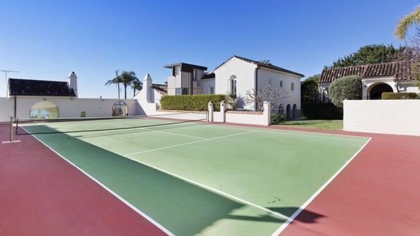 Tennis anyone? This court in Manly's Fairy Bower just sold for $5.3 million. Photo: supplied
