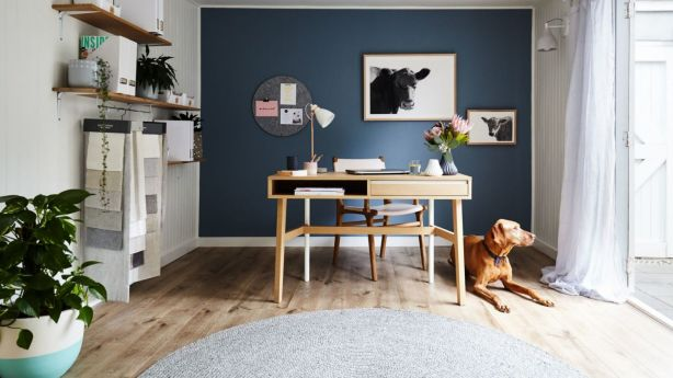 When placing your desk, resist the popular go-to position of up against a wall. Photo: Stephanie Rooney