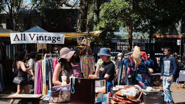 Glebe Saturday Markets. Photo: Christopher Pearce