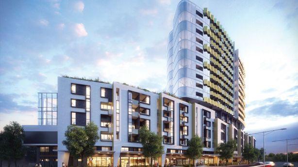 Benson's Vanguard development in Malvern East is 17 levels tall. Photo: Supplied
