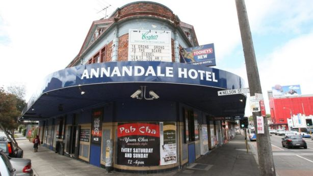 The Annandale Hotel, pictured here in 2009, prior to its refurbishment. Photo: Anthony Johnson