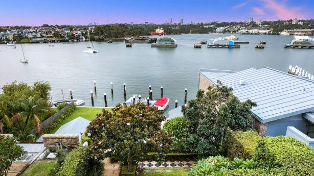 This renovated Victorian Gothic mansion in Birchgrove has multiple indoor-outdoor spaces. Photo: Supplied