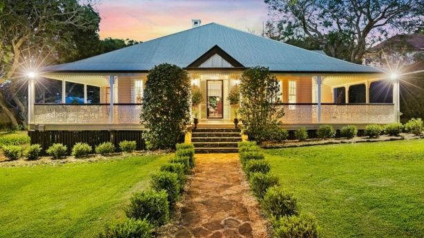 9 Campbell Street, East Toowoomba, sold last month for $2.2 million Photo: Webster Cavanagh Toowoomba