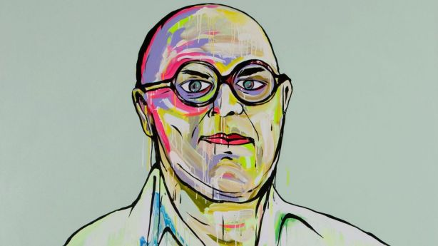 Portrait of art consultant Michael Reid by Adam Frederick Cullen. Photo: Moran Arts Foundation & the artist