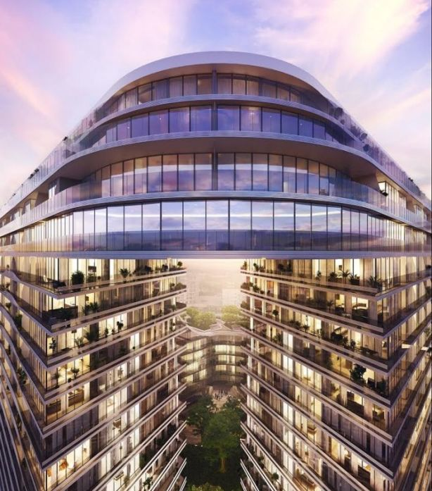 An artist's impression of the Infinity by Crown development at Green Square.
