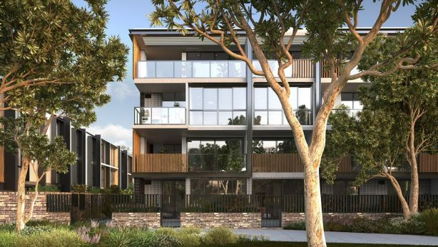 An artist's impression of Tailors Walk, one of the Frasers developments where first-home buyers are being given a leg up. Photo: Supplied