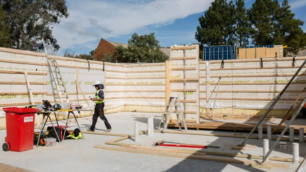 The childcare centre is being built in Torrens. Photo: Jamila Toderas
