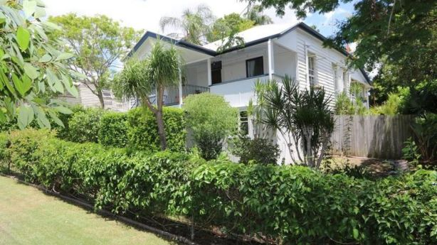 Ashley and Priscilla Payne made the move from Stafford Heights in Brisbane to a charming cottage in Booval, Ipswich, paying only just over $300,000. Photo: Supplied