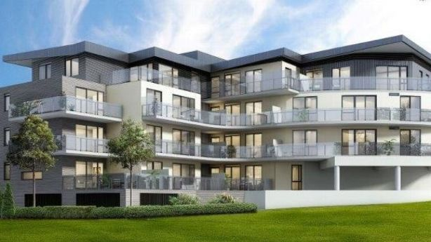 The most expensive apartment at 25-33 Grimshaw Street, Greensborough sold for $585,000 last year. Photo: Alexkarbon