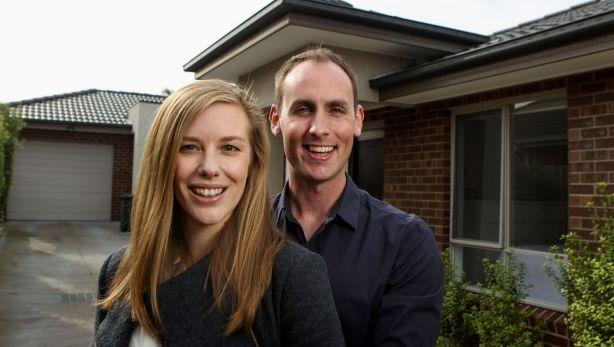 Matt Lyon and partner Allison are moving into a villa unit in Altona. Photo: Pat Scala